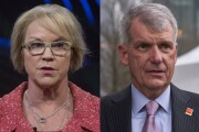 Cathy Bessant of Bank of America and Tim Sloan of Wells Fargo.