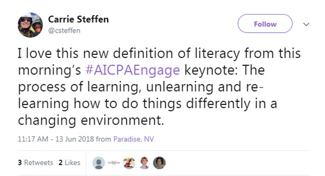 Engage 2018 - Unlearn