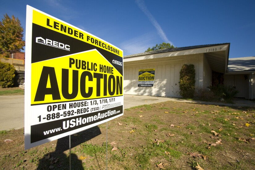 Foreclosure-real estate-home auction