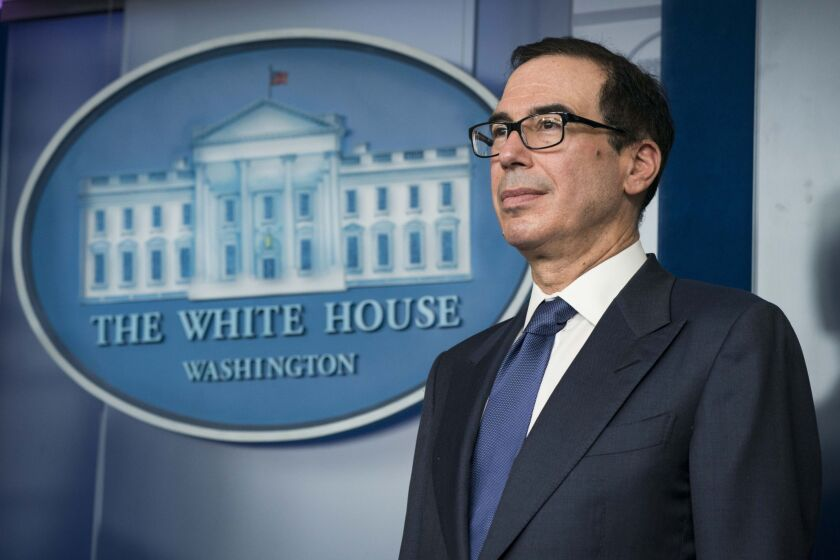 """FSOC was established as a means of looking at systemic issues and coordinating across the agencies,"" said Treasury Secretary Steven Mnuchin. ""We have been using this in a very productive way, but now especially, this is a very important forum for us as we confront a unique situation."""