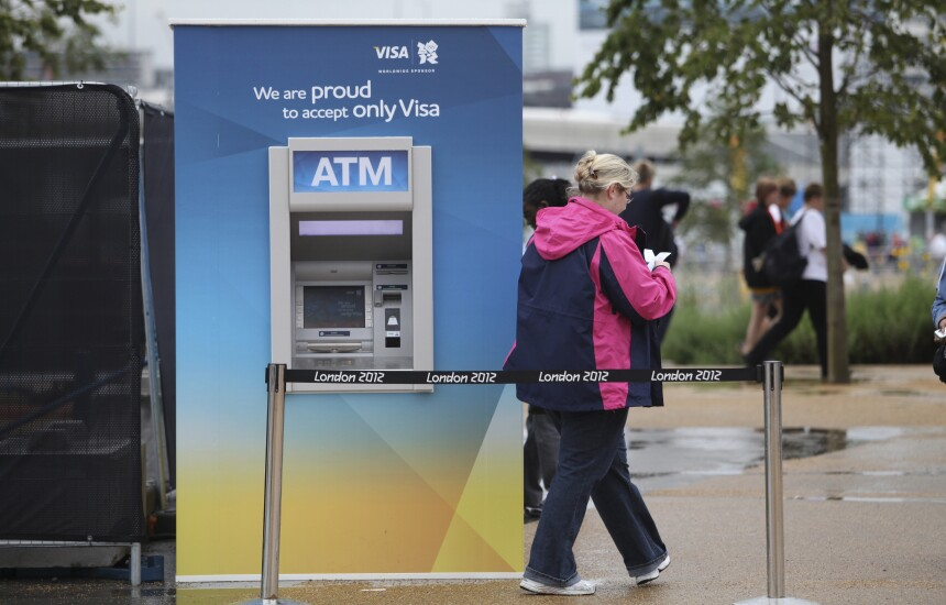 Visa Olympics ATM (London, 2012)