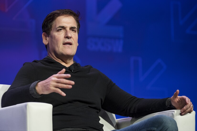"Mark Cuban, Dallas Mavericks owner and ""Shark Tank"" star"
