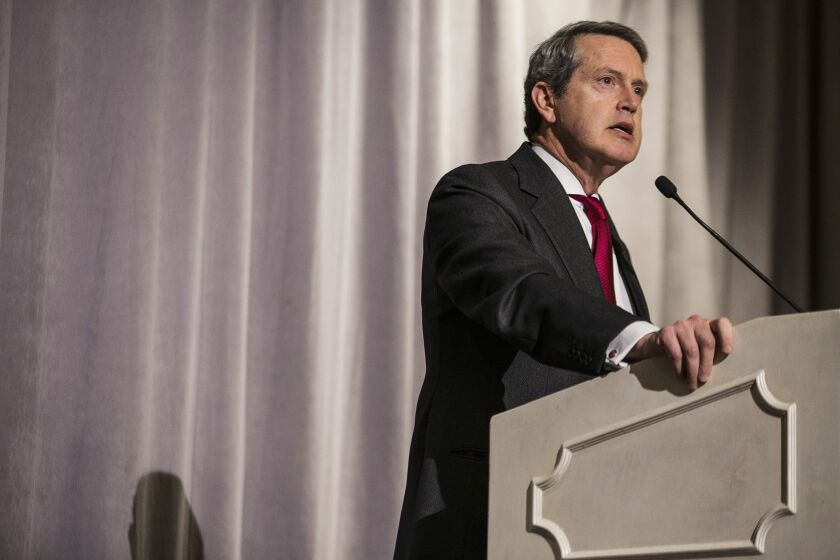 """""""It's clear we need to take action to address these issues,"""" Randal Quarles, chair of the FSB and vice chairman of supervision for the Fed, told reporters during a Monday press briefing."""