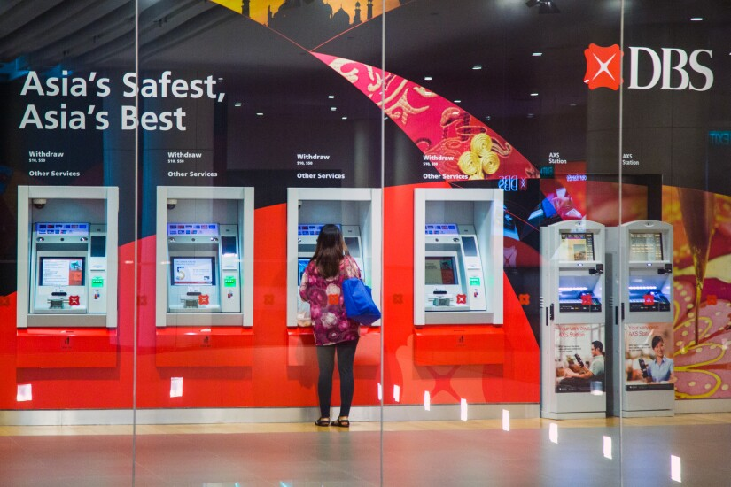 DBS bank branch and ATMs