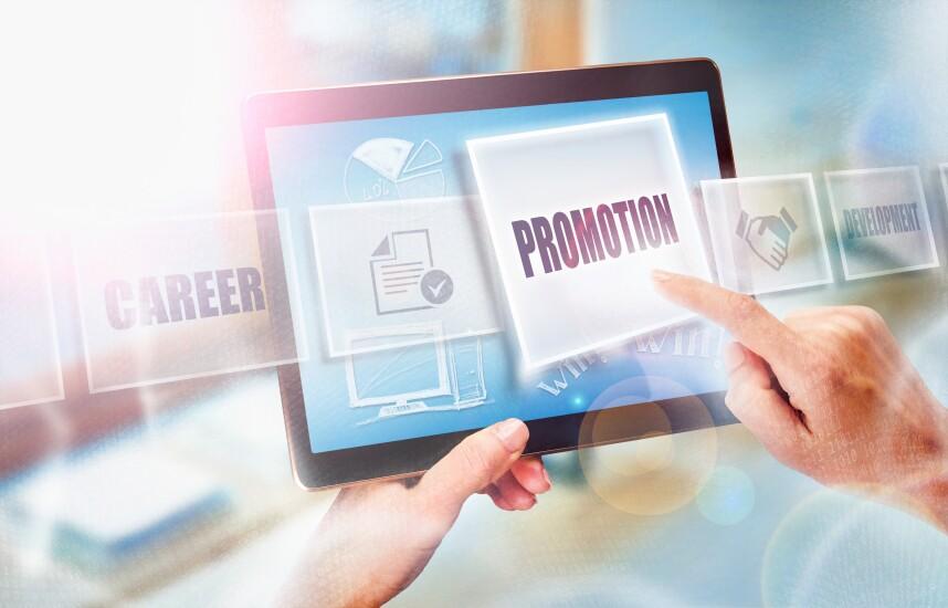 Promotion stock art