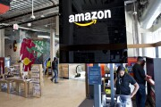 Amazon in-store signage
