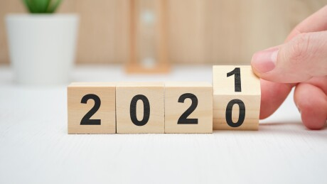 2020 to 2021 with cubes