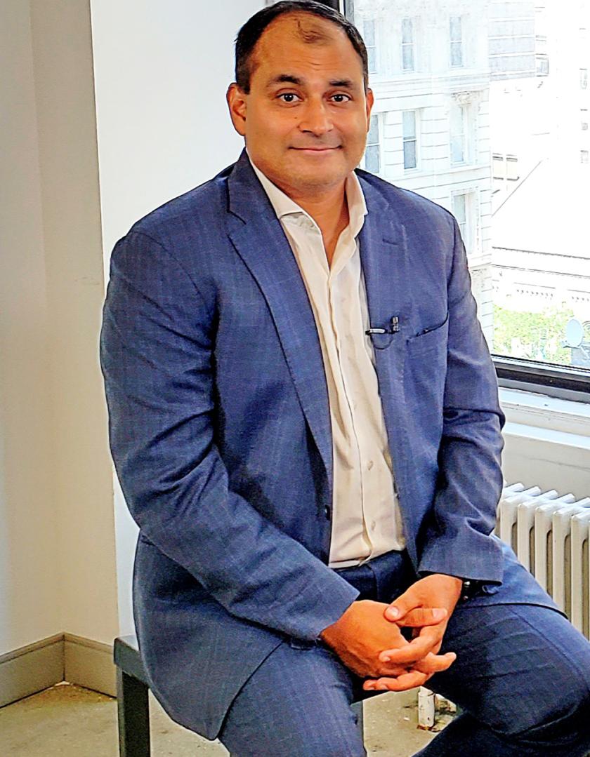 Rodger Desai, CEO of Prove