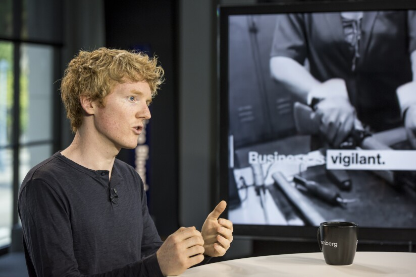 Patrick Collison, co-founder and chief executive officer of Stripe Inc.