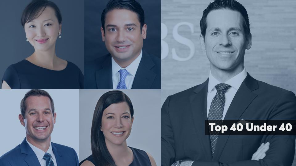 Top 40 Advisors Under 40 cover slide 2020 edition
