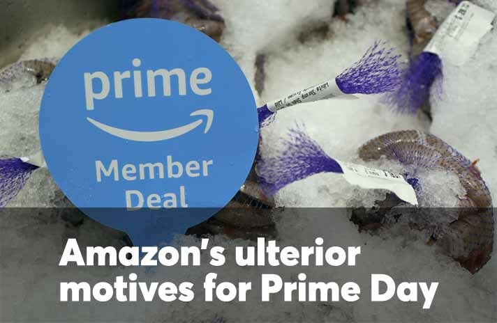 Amazon's ulterior motives for Prime Day