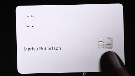 Apple Card from Apple's presentation