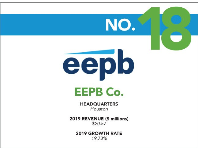 2020 Fastest Growing - 18 - EEPB