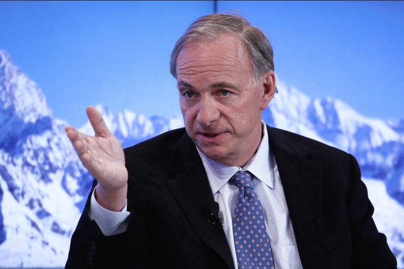 Ray Dalio is the founder of Bridgewater Associates.