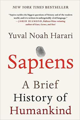 demcovers/Sapiens- A Brief History of Humankind by Yuval Noah Harari.jpg