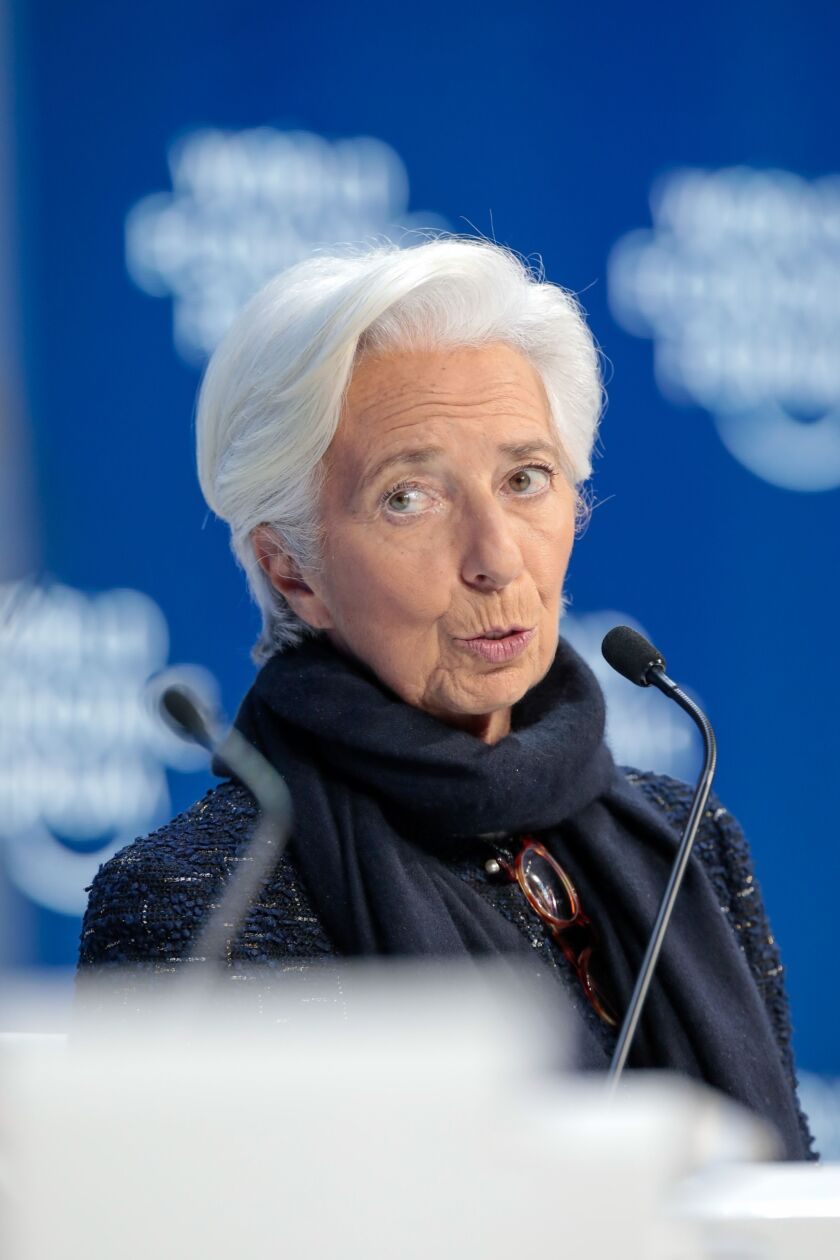 "Climate change must be thoroughly debated among monetary policy makers and even ""green quantitative easing"" could be an option. There's a ""danger of doing nothing. Failing to try is already failing,"" ECB President Christine Lagarde said last month."