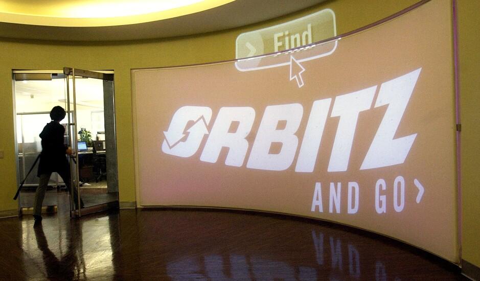 Orbitz signage