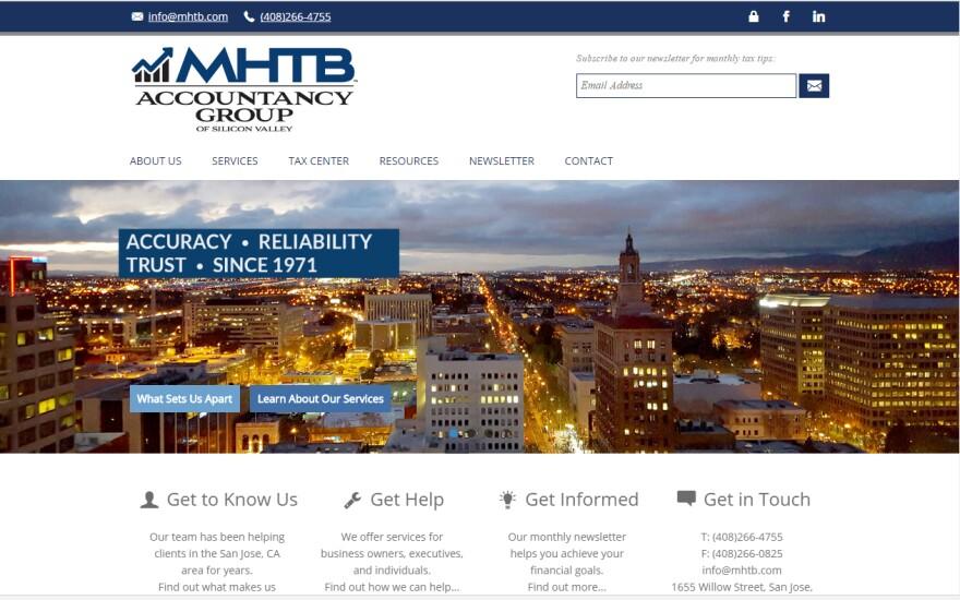 MHTB web site