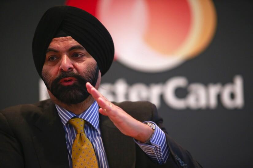 Ajay Banga, ceo of mastercard