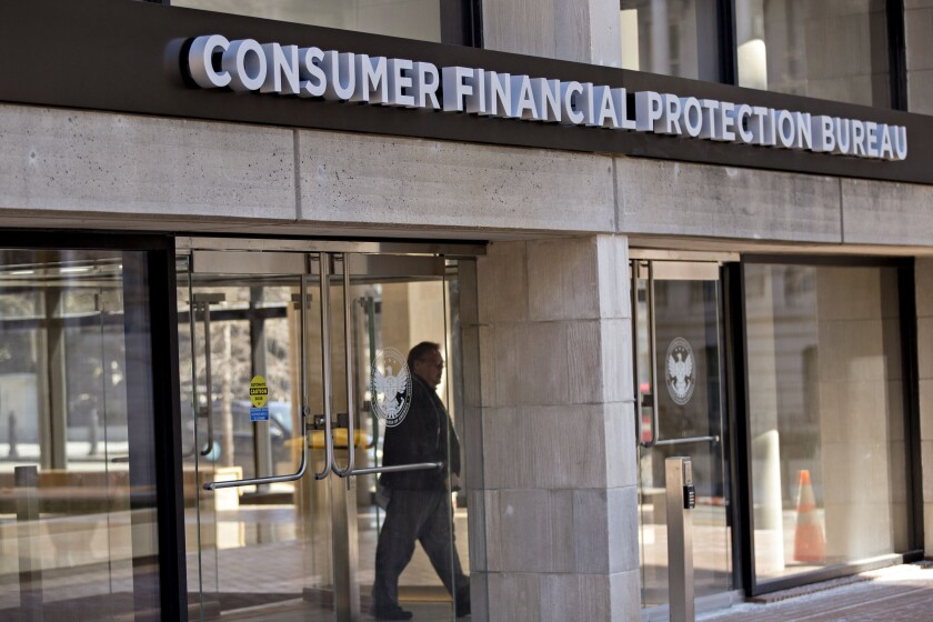 The CFPB is encouraging mortgage lenders to voluntarily tell consumers of their ability to obtain waivers for certain required waiting periods under TRID, which is codified in Regulation Z.