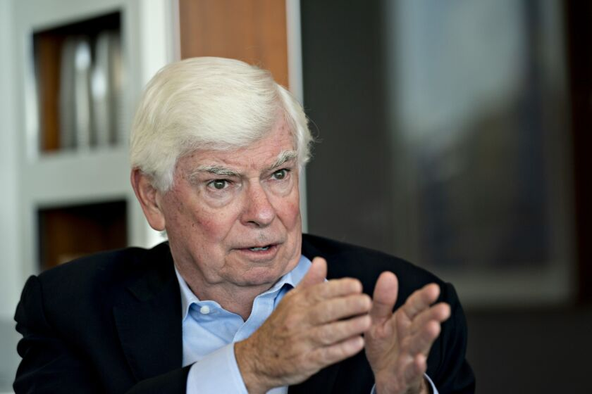 """If the 2010 reforms were not passed, """"this crisis we are going through now would have been far worse,"""" said former Sen. Chris Dodd, D-Conn."""
