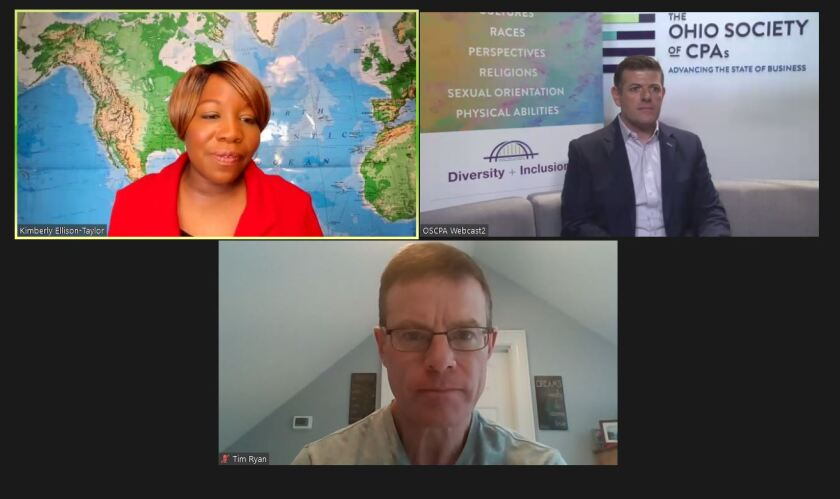 (clockwise from top left) Kimberly Ellison-Taylor, Scott Wiley and Tim Ryan