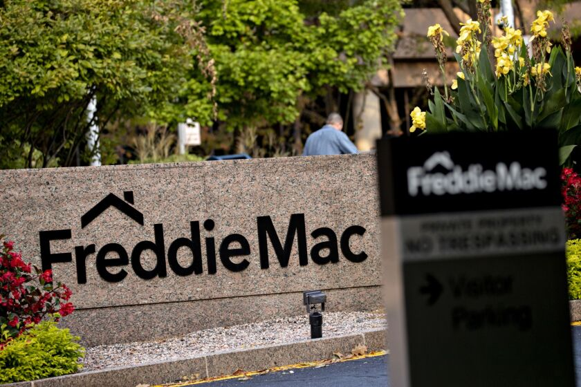 The mortgage giants Fannie Mae and Freddie Mac traditionally have not purchased loans that are in forbearance.