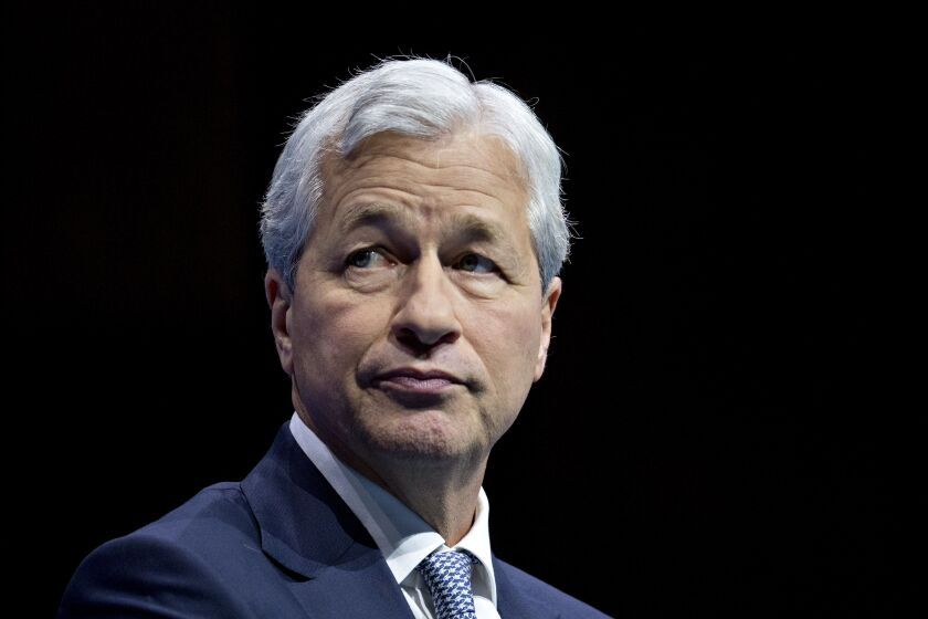 """""""Given the likelihood of a fairly severe recession, it was necessary to build credit reserves,"""" JPMorgan Chase CEO Jamie Dimon said."""