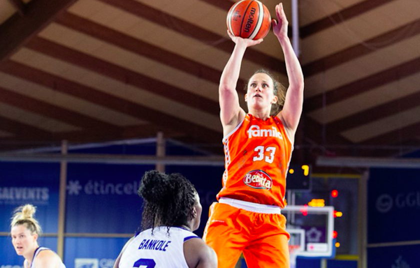 Stanford graduate and Olympian, Jillian Harmon, is taking the externship from her base in Schio, Italy. She plans to study for her CFP while playing her last year of professional basketball for Euroleague Women.