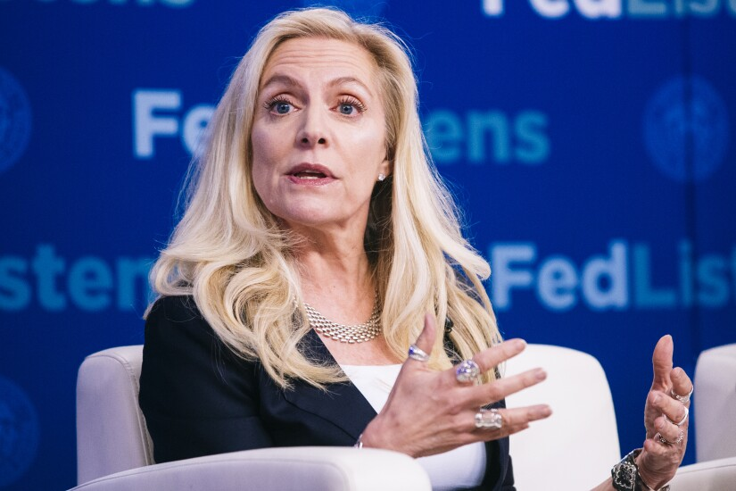 Federal Reserve Board Gov. Lael Brainard