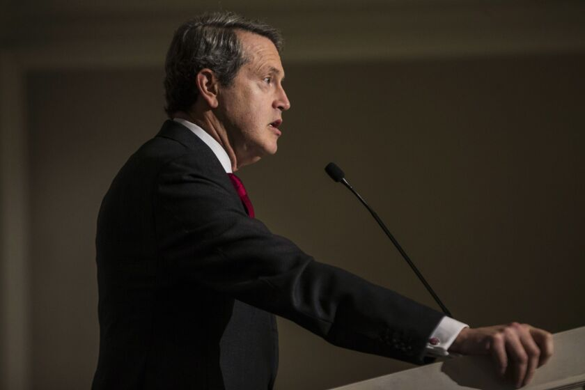 """""""The inexorable march of technology is a huge opportunity but also a supervisory challenge for the financial system,"""" said Randal Quarles, the Federal Reserve's vice chairman for supervision."""