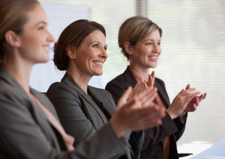 1. PeerRecognition.Women.Clapping.Getty.jpg