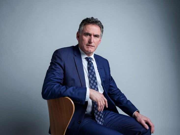 Ross McEwan, chief executive officer of Royal Bank of Scotland, poses for a photograph following an interview in London on Dec. 5, 2018.