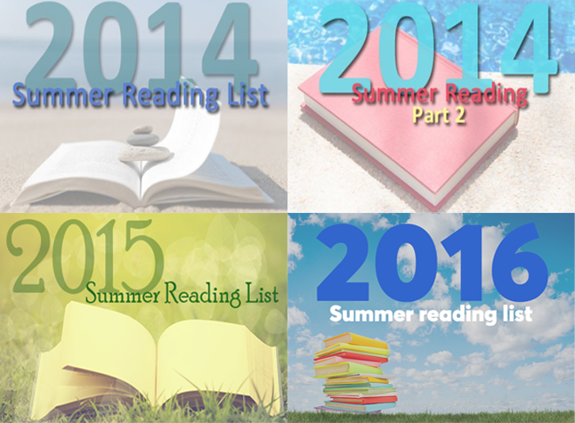 Summer reading list 2016 - 15