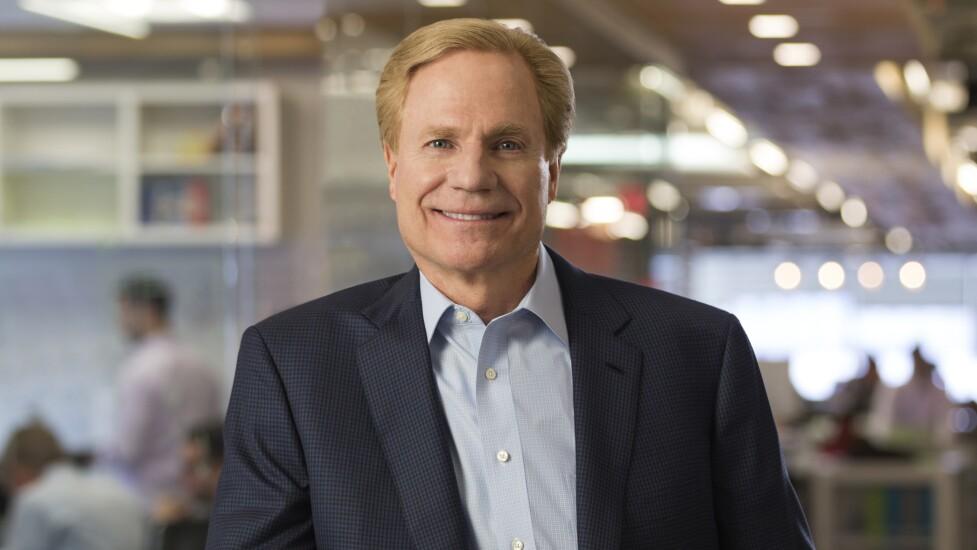 Capital One CEO Richard Fairbank.