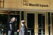 Merrill Lynch By Bloomberg News men shaking hands