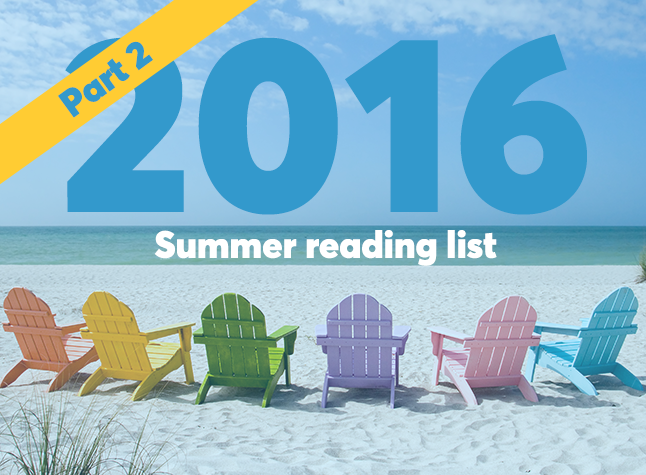 Summer reading list part 2 cover