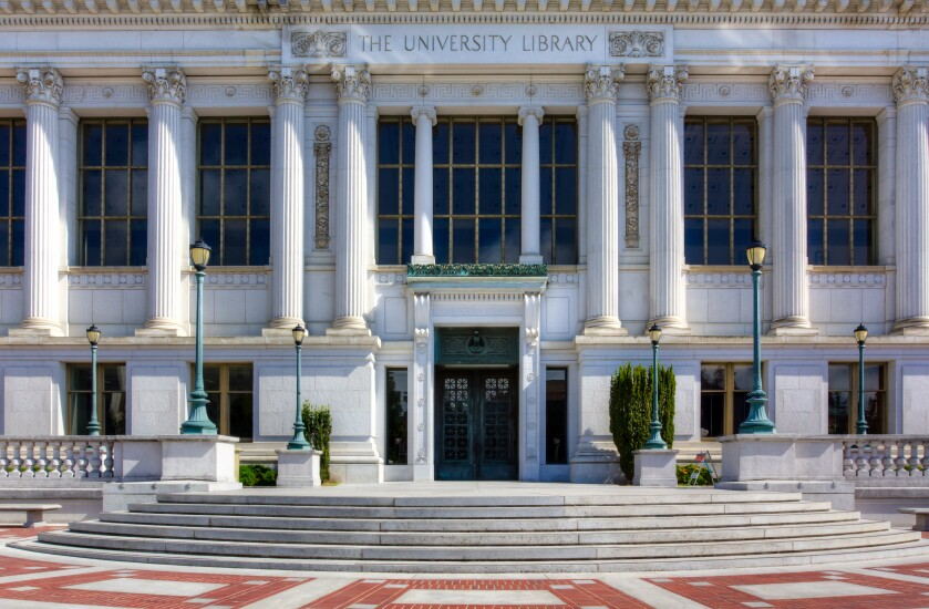 Berkeley University Library at University of California, Berkeley