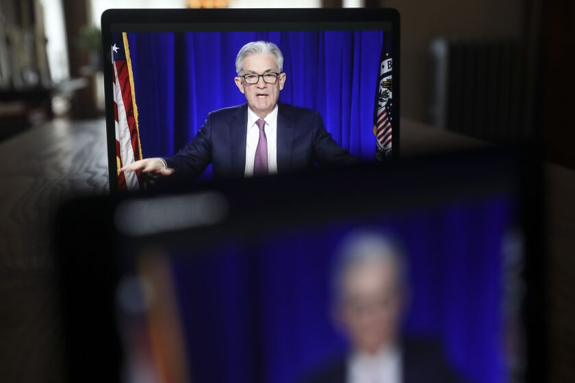 """We haven't made a decision about whether to continue them in the second quarter or not,"" Fed Chair Jerome Powell said of restrictions on shareholder payouts. ""We're going to look at the whole range of information, including economic activity, banking activity, the success in vaccination — all of those things will go into our assessment of what the right answer is to that question."""