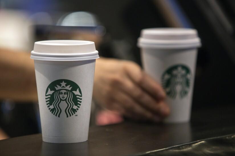 starbucks cup pair