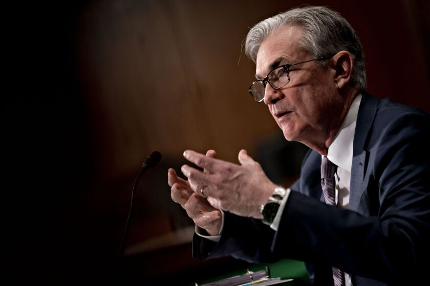 """A number of banks have come forward and said that they want to work on a separate rate, which would not replace SOFR, but would be credit sensitive, and so they're doing that now and ... we're working with them to support that process,"" said Fed Chairman Jerome Powell."