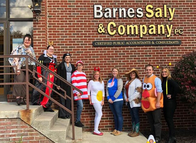 2018 Best Firms - Barnes Saly stairs