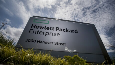 Hewlett Packard Sign