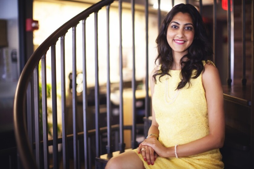 """""""In an era when digital banking continues to expand, we look forward to building our business,"""" says BankMobile CEO Luvleen Sidhu."""