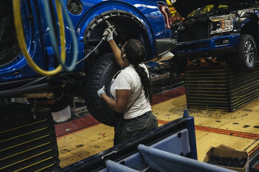 Ford Holds Event At Rouge Plant