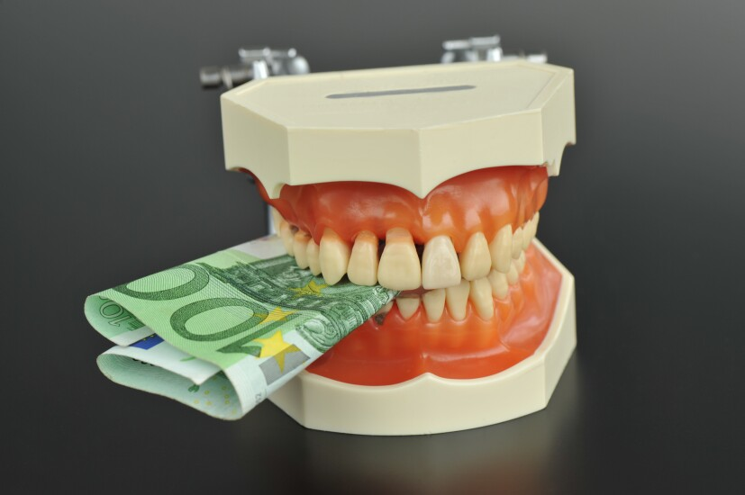 Teeth and money