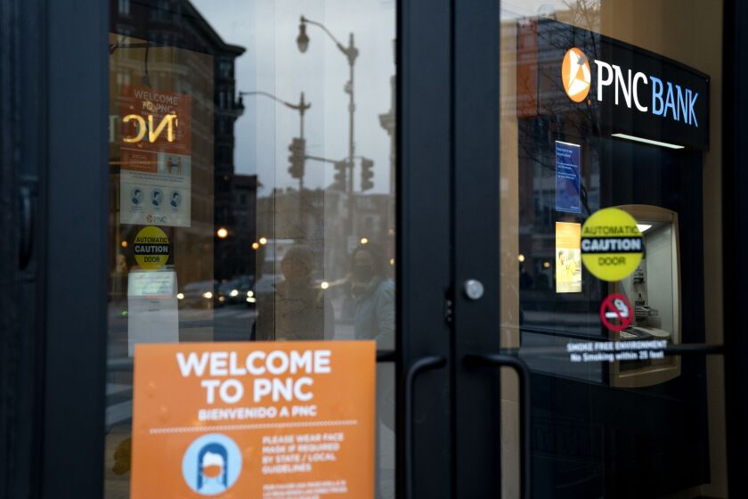 PNC reported net income of $1.5 billion in the fourth quarter, up 5.4% from the same period in 2019.