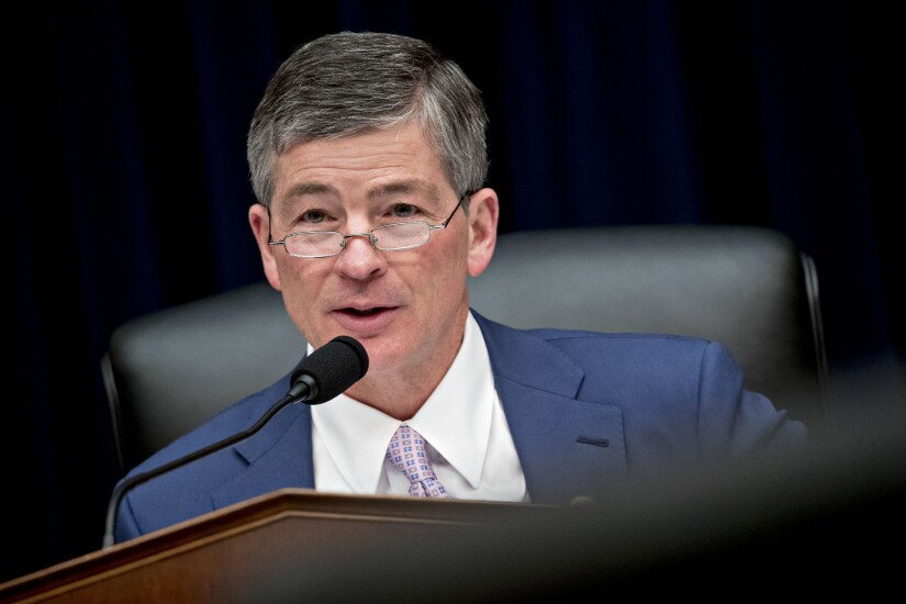 Rep. Jeb Hensarling, a Republican from Texas and chairman of the House Financial Services Committee.