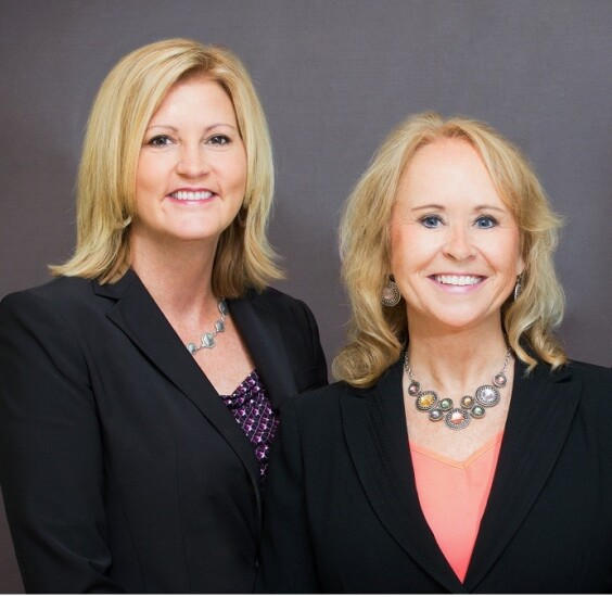 Ashley Banks and Donna Carroll independent advisers at Raymond James
