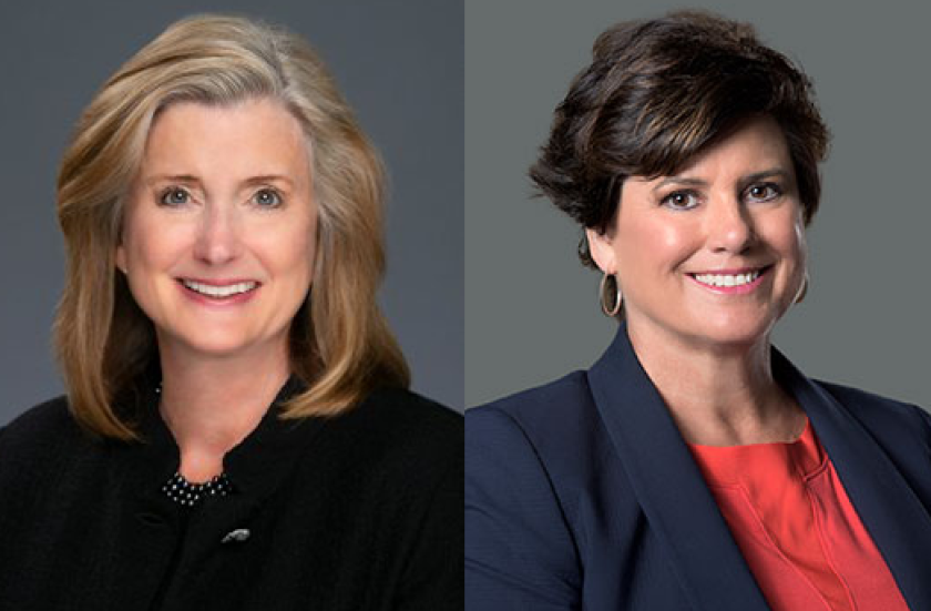 Julianne Andrews (left) and Cathy Miller (right) founded Atlanta Financial Associates in 1992.